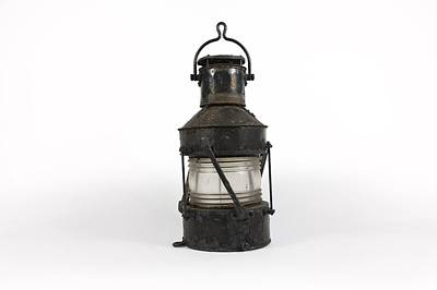 19th Century Oil Lamp Print by Science Photo Library
