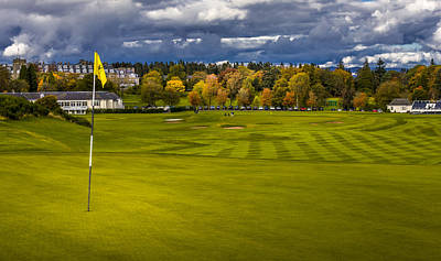 Photograph - Prints For Sale Kings Golf Course Gleneagles by Alex Saunders