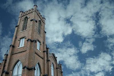 Spiritual Photograph - Church Architecture by Lesa Fine