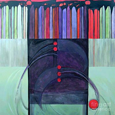 The Torah Painting -  Berchot Hatorah...torah Blessings by Marlene Burns
