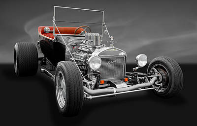 Ford Roadster Photograph - 1923 Ford T-bucket by Frank J Benz
