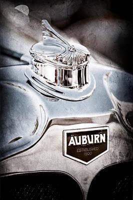 Auburn Photograph - 1929 Auburn 8-90 Speedster Hood Ornament by Jill Reger