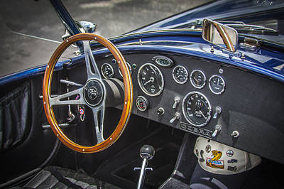 Carroll Shelby Photograph - 1965 Ford Ac Cobra 427 by Rich Franco