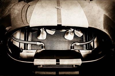 Shelby Cobra Photograph - 1965 Shelby Cobra Grille by Jill Reger