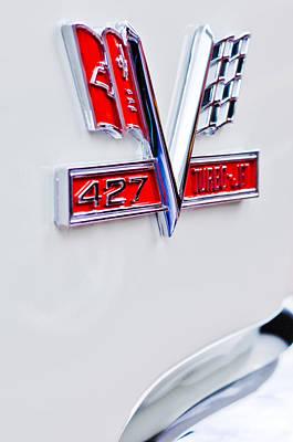 1966 Chevrolet Biscayne Emblem Print by Jill Reger