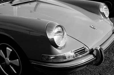 1968 Photograph - 1968 Porsche 911 Front End by Jill Reger