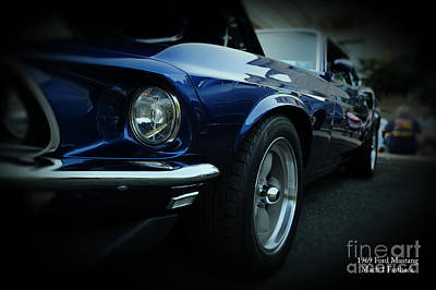 1969 Ford Mustang Mach 1 Fastback Print by Paul Ward