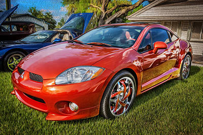 Special Edition Photograph - 2006 Mitsubishi Eclipse Gt V6 Painted by Rich Franco