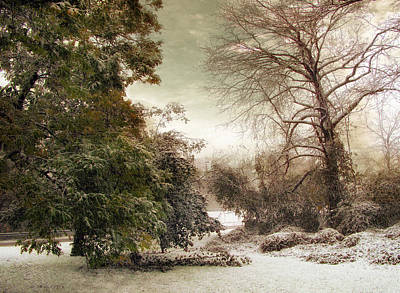 A Dusting Of Snow Print by Jessica Jenney