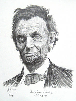 Abraham Lincoln Original by Ray Johnstone