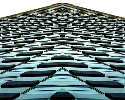 Abstract Buildings 1 Print by J D Owen