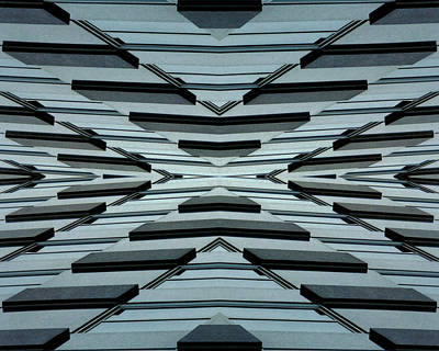 Abstract Digital Photograph - Abstract Buildings 3 by J D Owen
