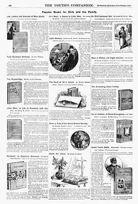 Advertisement Books, 1890 Print by Granger