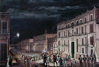 Agust�n De Iturbide (1783-1824) Print by Granger