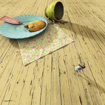 Cookies Digital Art - Alice by Cynthia Decker