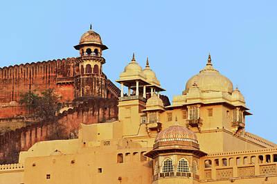 Amber Fort, Jaipur, India Print by Adam Jones