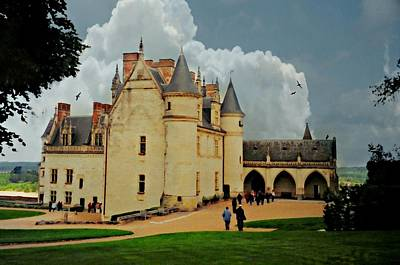 Amboise Castle Print by Diana Angstadt