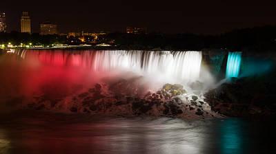 Family Photograph - American Falls by Adam Romanowicz