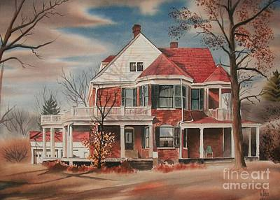 American Home IIi Print by Kip DeVore