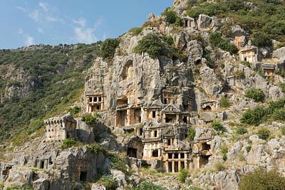 Ancient City Of Myra Print by David Parker