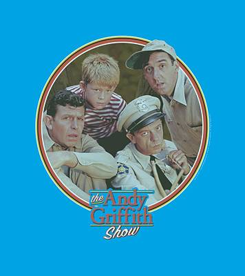 Andy Griffith Show Digital Art - Andy Griffith - Boys Club by Brand A
