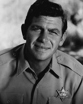 Singer Photograph - Andy Griffith by Retro Images Archive