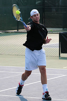 Andy Roddick Print by James Marvin Phelps