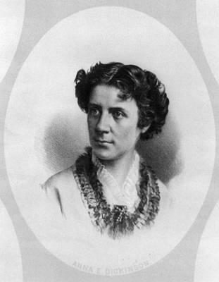 Anna Elizabeth Dickinson (1842-1932) Print by Granger