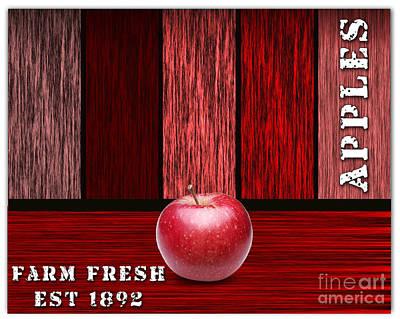 Apple Farm Print by Marvin Blaine