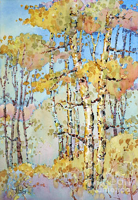 Painting - Aspen Color by Joyce Hicks
