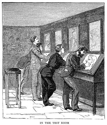 1884 Drawing - Atelier, 1884 by Granger