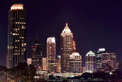 Tnt Photograph - Atlanta From Above by Frozen in Time Fine Art Photography
