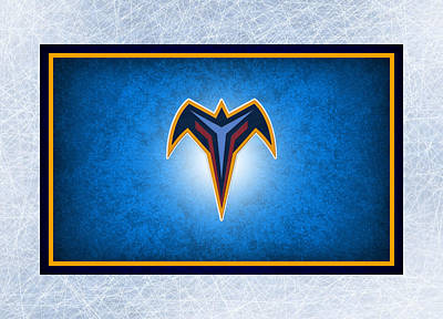 Atlanta Thrashers Print by Joe Hamilton