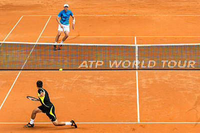 Atp World Tour Photograph - Atp Qualification In Stuttgart - Germany by Frank Gaertner