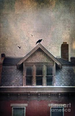 Old House Photograph - Attic Window by Jill Battaglia
