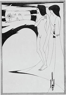 Aubrey Beardsley's Drawings Print by British Library