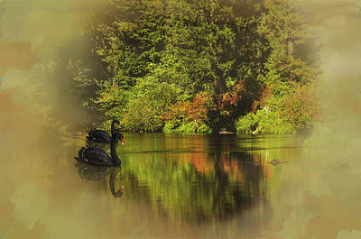 Autumn Dream Print by Diane Schuster
