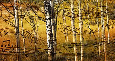Autumn Sonata Print by Theresa Tahara