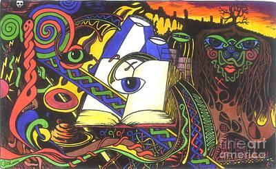 Awakening  Print by Anthony Hodgson