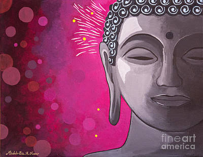 Bodhisattva Painting - Awakening by Mindah-Lee Kumar