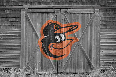 Baltimore Orioles Print by Joe Hamilton