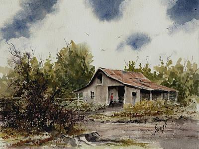 Barn Original by Sam Sidders