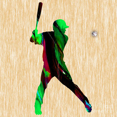 Baseball Art Print by Marvin Blaine