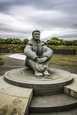 Battle Of Britain Memorial Original by Chris Smith
