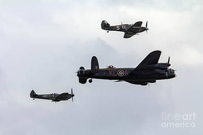 Raf Photograph - Battle Of Britain Memorial Flight by J Biggadike
