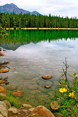 Beauvert Lake In Jasper National Park-alberta-canada Original by Ruth Hager