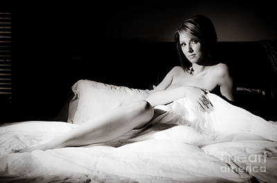 Provocative Photograph - Bed Time by Jt PhotoDesign