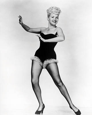 Grable Photograph - Betty Grable by Silver Screen