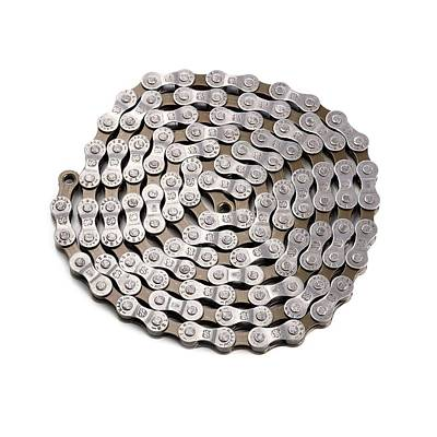 Bicycle Chain Print by Science Photo Library