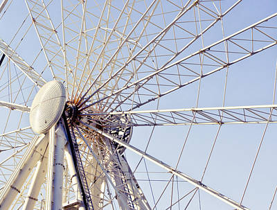 Rollercoaster Photograph - Big Wheel by Tom Gowanlock